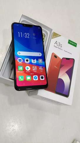 Oppo A3s 3Gb Ram 32 GB Storage 8 months old with bill box