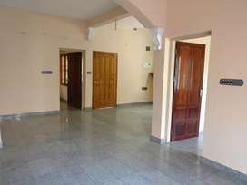 Spacious 2BHK with open terrace and balcony for rent in kadavanthra