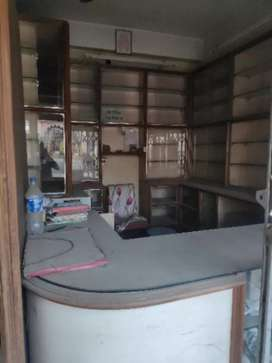 Medicine shop setup with in-build doctor chamber sale on lease basis