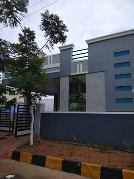 2bhk independend house available in gated community near ecil@75lakhs