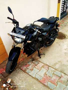 TVs Apache 200 RTR with ABS system and single owner