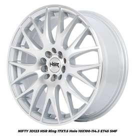 Velg Mobil Altis New, VW polo, Eritga, Silvia dll Ring 17 HSR nifty