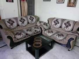 Brand new jute sofa