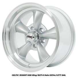 VELG CELTIC JD5097 HSR R15X7/8 H5X114,3 ET7 SML