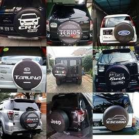 Cover/Sarung Ban Serep Jeep/Rush/Terios pd bawa saingan  Panther vitar