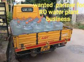 Ro water plant business