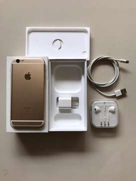 Dijual Iphone 6S 64 GB Gold