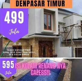 Rumah Baru lokasi di Tohpati , Gatsu Kota Denpasar dekat Batubulan