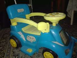 Battery operated kid car