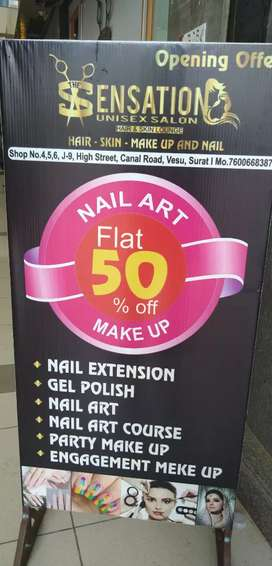 Nail extension and nailart classes