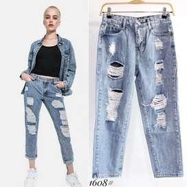 Celana Boy friend Jeans