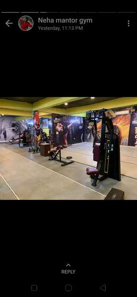 Gym full new branded setup manufacturer