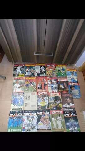 Sportstar & Cricket Samrat Magzines