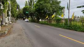 Tanah Dijual di selatan sedikit Pasar Pakem Jl. Kaliurang dekat UII