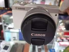 Canon M100 Putih bisa Kredit Lokasi Amplaz