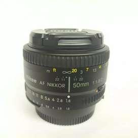 Nikon AFD 50mm f1.8 Mulus
