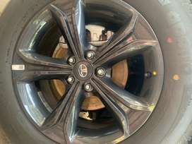 Brand new Tata harrier dark edition alloy wheels