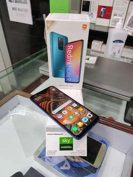 Sky mobiles Redmi note 9 mobile 4gb ram 128gb ROM memory