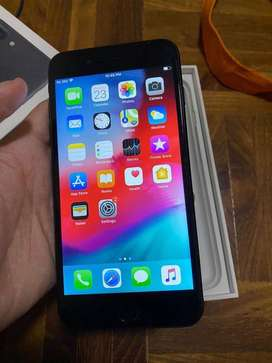 get 7 plus black 128 gb amazing condition