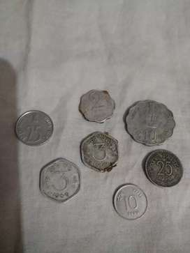 Old coin Indian currency