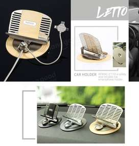 Remax Letto Car Holder 3 in 1 Lightning/Micro /Type C, Cas Mobil