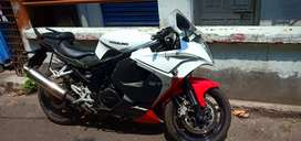 I was sale my  hysoung gt 250 bike fully new condition price 220000 rs