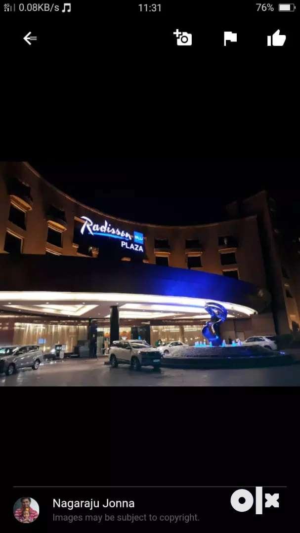 Job in 5 star hotel 0