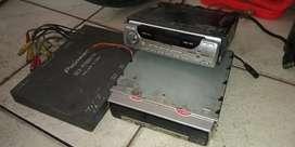 Tv sliding 7 in pioneer kondisi rusak