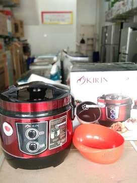 KIRIN rice cooker Pro Ceramic 2L(Gratis Ongkir bisa bayar dirumah)
