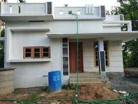 2 bhk 750 sqft 3.25 cent new buikd house at aluva alangad 200 mtr