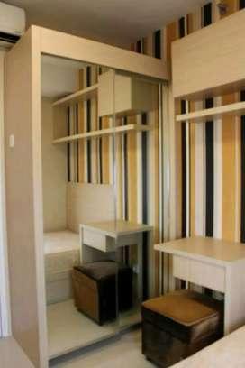 Disewakan apartemen Bassura city 3br full furnish