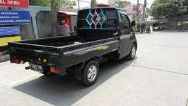 Grandmax pick up 1.3 hitam 2011 kondisi tinggal jalan