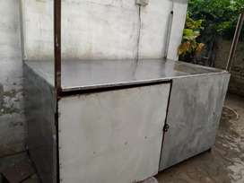 BBQ Counter With Fiber Roof top