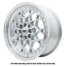 stock terbaru hsr wheel type MYTH06 ring 17 smfl