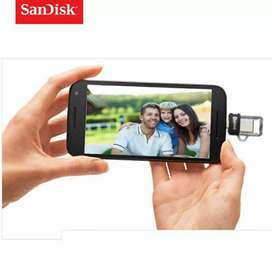 Sandisk 32gb usb OTG for Mobile and PC