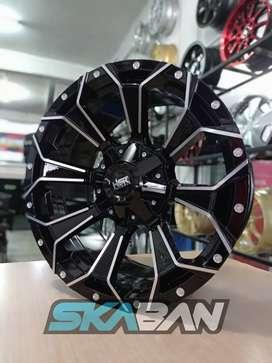 jual hsr wheel type shapu ring 18x9 h6(139,7)
