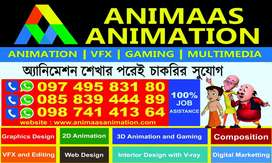 Need Female Telecaller for Animation Institute