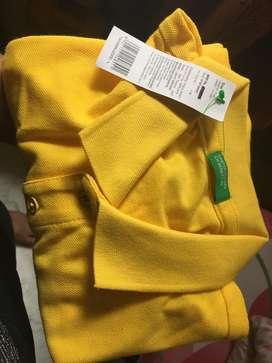 branded t shirt(half sleeve) (length:73cm, chest: 1m 4cm, size: L)