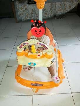 Musical Baby's  walker