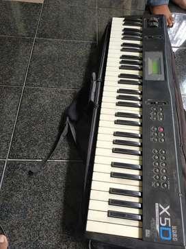 Keyboard KORG x5d siap pakai