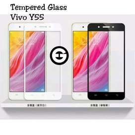 Tempered Glass Full Kaca Warna Vivo Y55