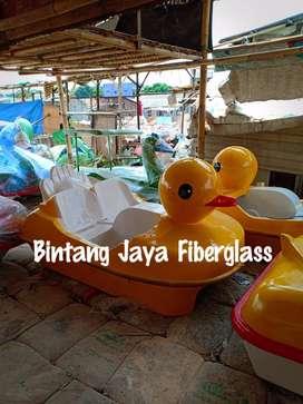 bebekan sepeda air fiberglass,sepeda air berkualitas,anak itik fiber