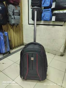jual tas ransel troli roda 2 koper dorong murah polo import# koper