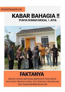 Rumah TANPA DP siap huni GRATIS seluruh biaya, rumah murah di bogor