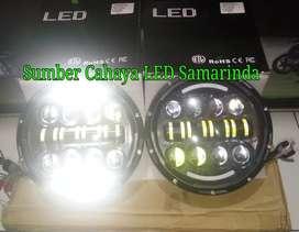 Lampu LED headlamp Daymaker mobil