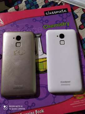 Coolpad note 3 plus (gold) & Coolpad note 3 (white)