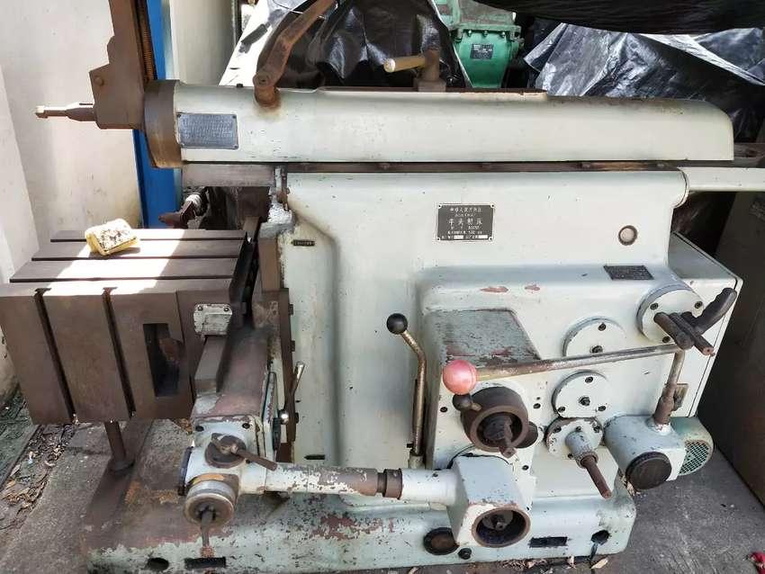 Mesin bengkel Scrap mill besi Baja 500 mm 0