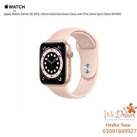 Apple Watch Series SE GPS 44mm Gold Aluminum Case - MYDR2