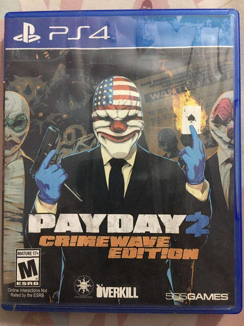 "Dijual murah kaset PS4 payday2 ""second"" 0"
