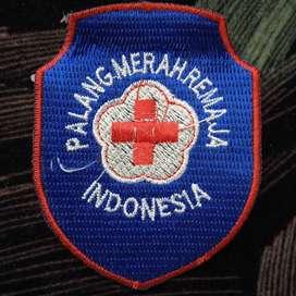 Bordir logo palang merah remaja